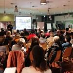 Voller Saal in der Salzburg AG im Rahmen der Ideenwerkstatt Schallmoos
