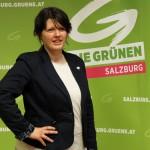 Barbara Sieberth, Kandidatin der Grünen für Landtagswahl Salzburg 2013