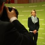 Kimbie Humer-Vogl, 3. Listenplatz für Landtagswahl Salzburg 2013