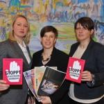 Watchgroup gegen sexistische Werbung: Solarz / Schmidt / Sieberth (Foto Johannes Killer)
