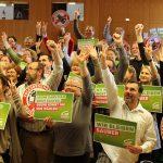 Gruppenfoto Landesversammlung der Grünen Salzburg, Landtagswahl 2013