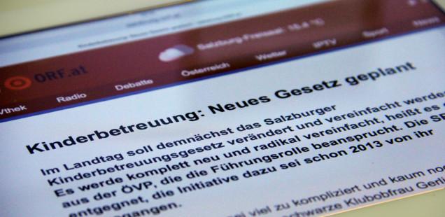 Kinderbetreuung in Salzburg: Die geplante Novellierung und eine SPÖ, die in uralten Politikmustern festhängt